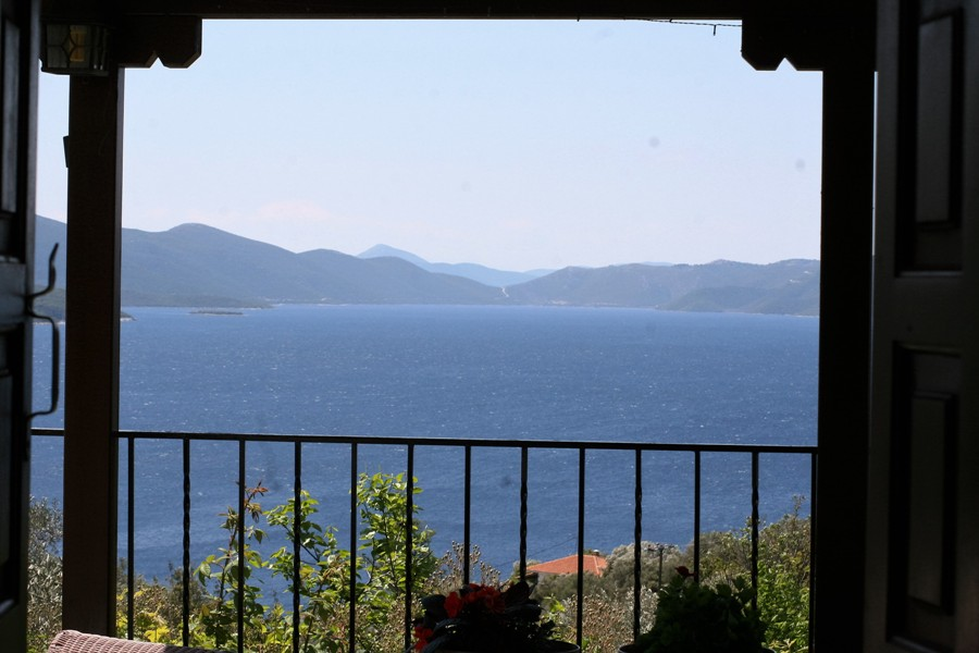 """""""The Olive Branch"""" with fantastic sea view  - Property Pelion"""