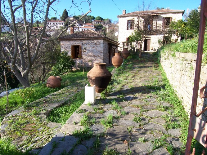 Two stone houses in the price of one!     - Property Pelion