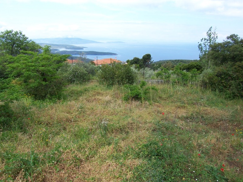 Buildable plot with open sea view - Property Pelion