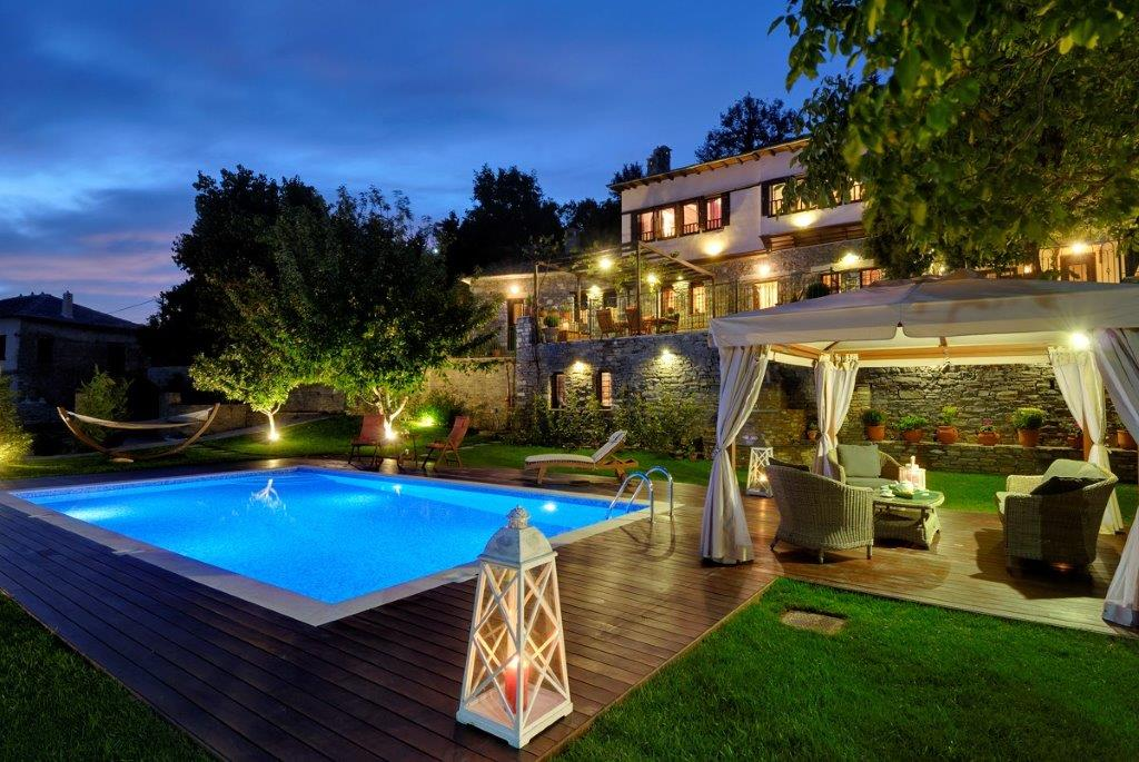 Spa/ Pool crown of Milies  - Property Pelion