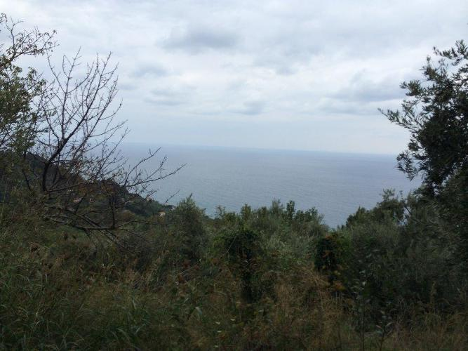 Buildable land with sea view in Tsagarada - Property Pelion