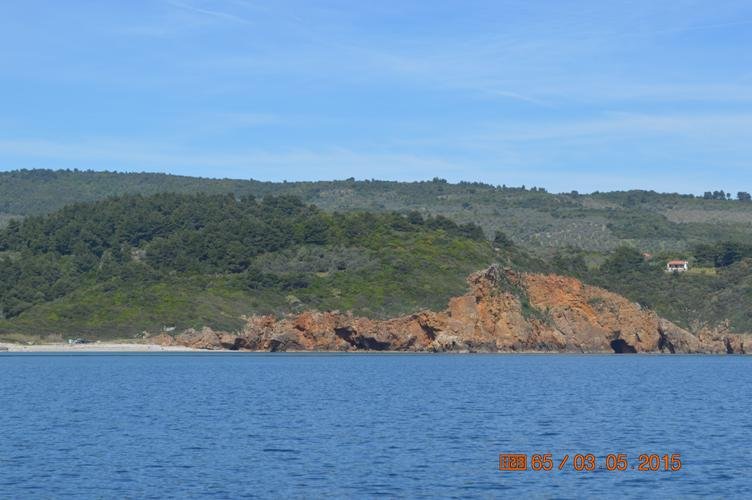 Waterfront buildable land with spectacular sea views  - Property Pelion