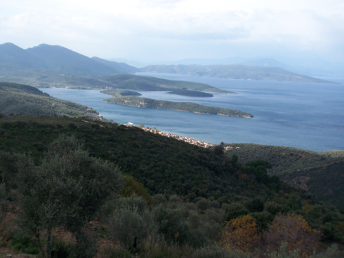 Several Land Plots with Spectacular Sea Views near Kastri and Lafkos. - Property Pelion