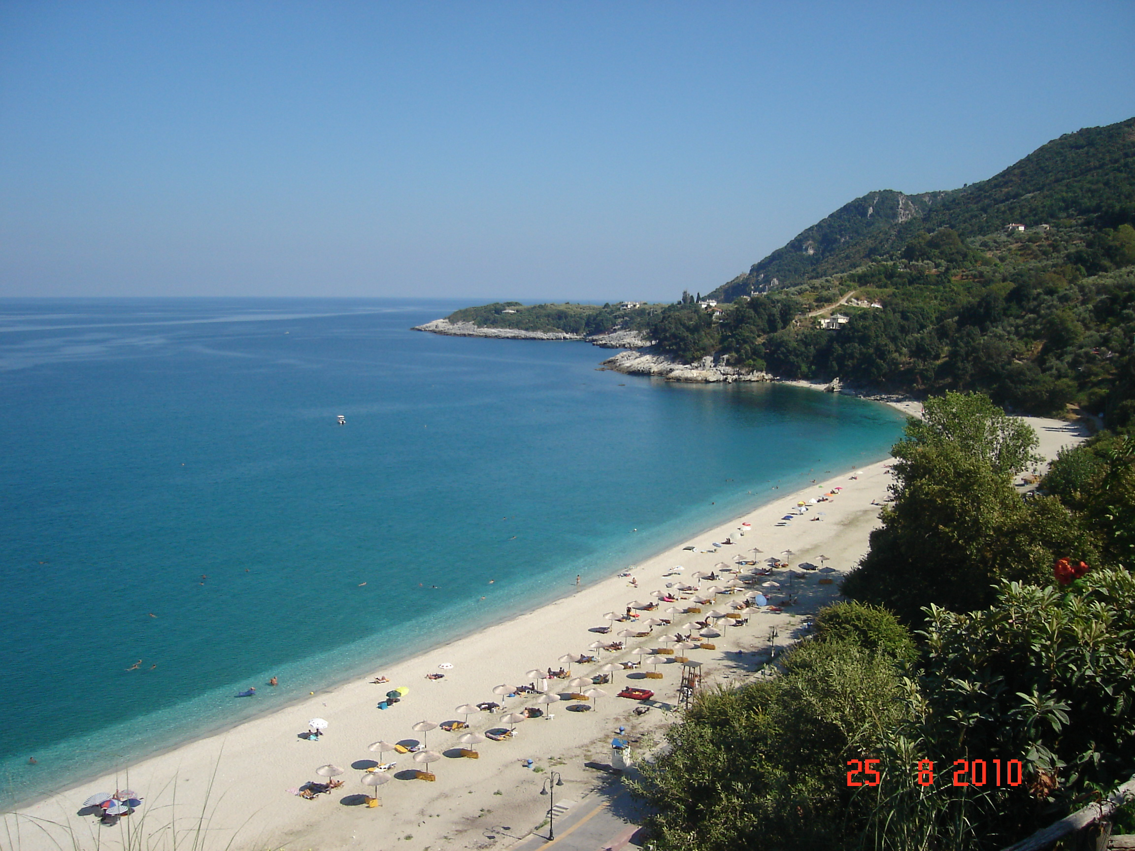 Papa nero magnificient sea view house for rent property pelion real