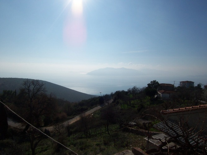 Traditional village house with spectacular sea view - Property Pelion