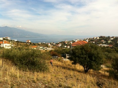 Volos suburb plot of land for two houses - Property Pelion