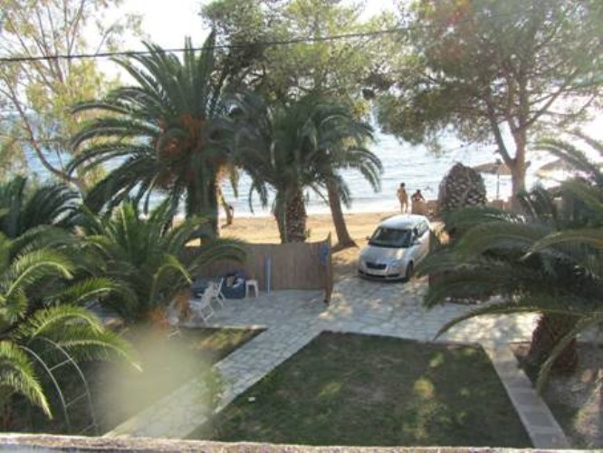 Sandy Beach Palm Tree Villa for Sale - Property Pelion