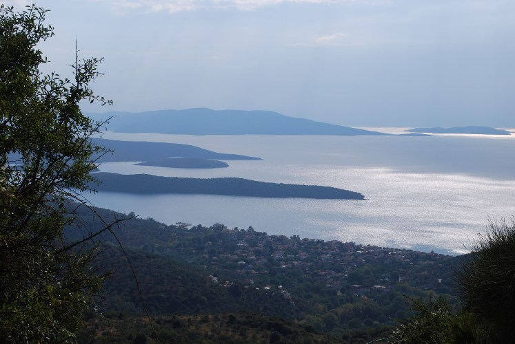 Buildable Land with spectacular panoramic sea view - Property Pelion