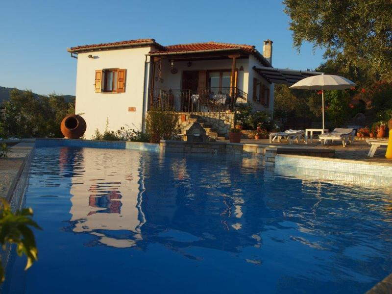 Sunset Pool Pelion Villa
