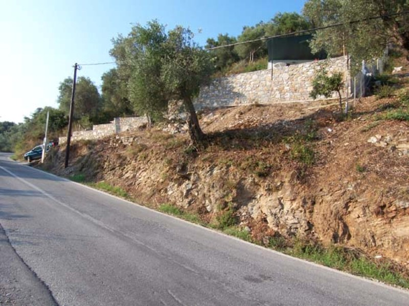 Sea View land plot in Milina, South Pelion