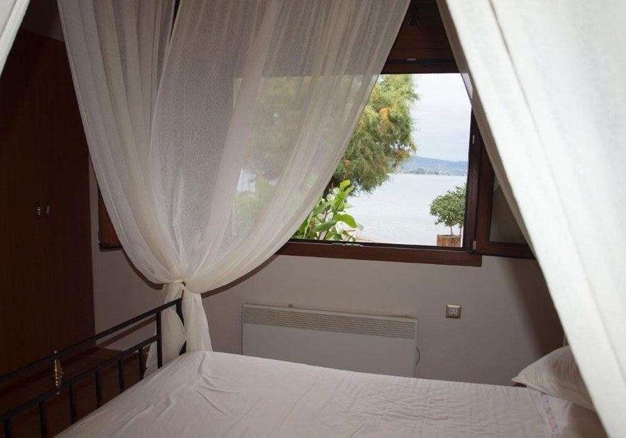 Right outside your bedroom window is the Mediterranean.