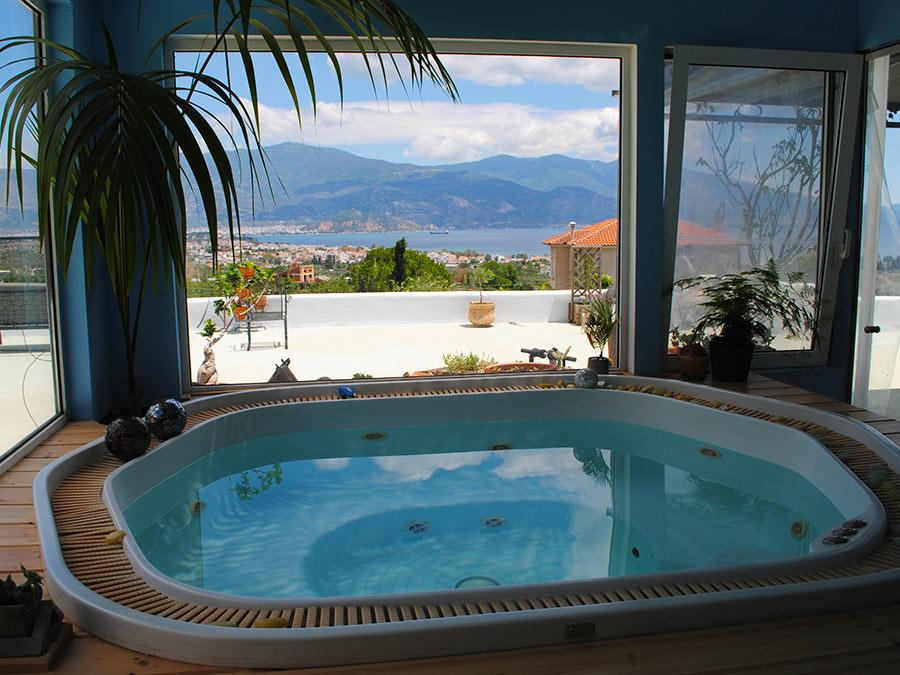 Pelion Holiday Villa with Sauna & Spa